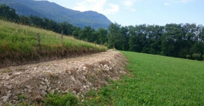 Le Montcel en Savoie : les Travaux